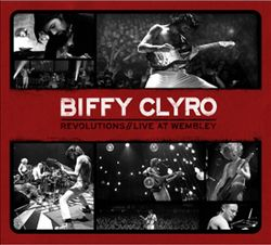 Biffy Clyro - Revolutions: Live At Wembley CD (album) cover