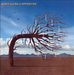 Biffy Clyro - Opposites CD (album) cover