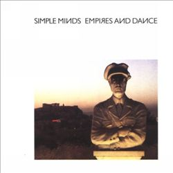 Simple Minds - Empires And Dance CD (album) cover