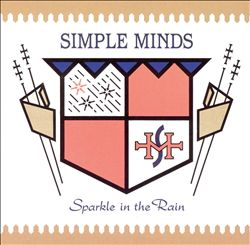 Simple Minds - Sparkle In The Rain CD (album) cover
