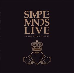Simple Minds - Live In The City Of Light CD (album) cover