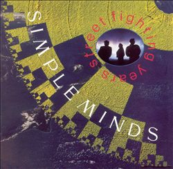 Simple Minds - Street Fighting Years CD (album) cover