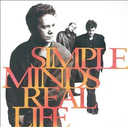 Simple Minds - Real Life CD (album) cover