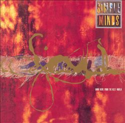 Simple Minds - Good News From The Next World CD (album) cover
