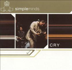 Simple Minds - Cry CD (album) cover