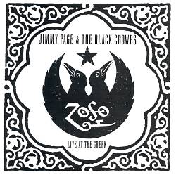 The Black Crowes - Live At The Greek CD (album) cover