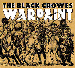 The Black Crowes - Warpaint CD (album) cover