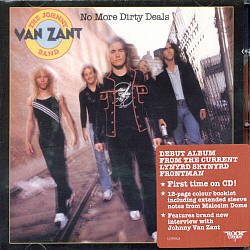 Johnny Van Zant - No More Dirty Deals CD (album) cover