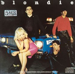 Blondie - Plastic Letters CD (album) cover