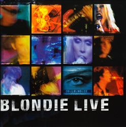 Blondie - Live In New York CD (album) cover