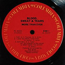 Sweat & Tears Blood - More Than Ever CD (album) cover
