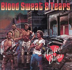 Sweat & Tears Blood - Nuclear Blues CD (album) cover