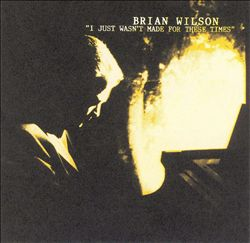 Brian Wilson - I Just Wasn't Made For These Times CD (album) cover