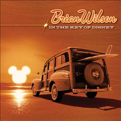 Brian Wilson - In The Key Of Disney CD (album) cover