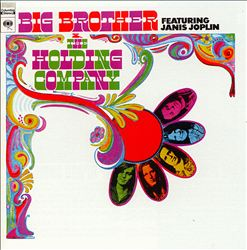 Big Brother & The Holding Company - Big Brother & The Holding Company Featuring Janis Joplin CD (album) cover