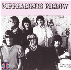 JEFFERSON AIRPLANE - Surrealistic Pillow CD album cover