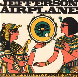 Jefferson Airplane - Live At The Fillmore East CD (album) cover