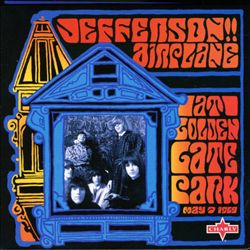 Jefferson Airplane - At Golden Gate Park CD (album) cover