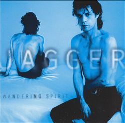 MICK JAGGER - Wandering Spirit CD album cover