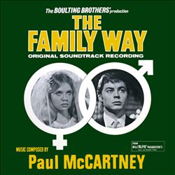 Paul Mccartney - The Family Way CD (album) cover