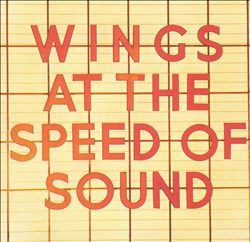 Paul Mccartney - Wings At The Speed Of Sound CD (album) cover