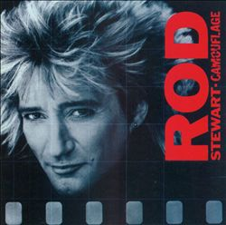 Rod Stewart - Camouflage CD (album) cover