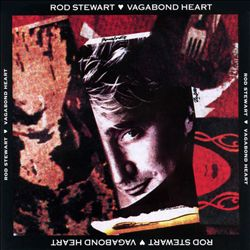 Rod Stewart - Vagabond Heart CD (album) cover