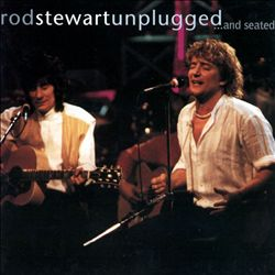 Rod Stewart - Unplugged... And Seated CD (album) cover