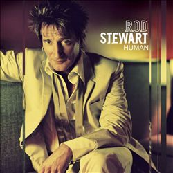 Rod Stewart - Human CD (album) cover