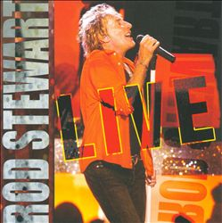 Rod Stewart - Rod Stewart Live CD (album) cover