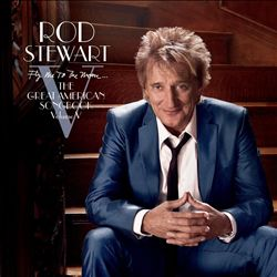 Rod Stewart - Fly Me To The Moon: The Great American Songbook, Vol. 5 CD (album) cover