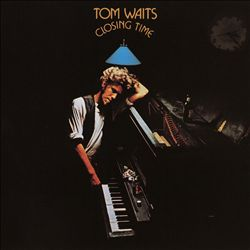 TOM WAITS - Closing Time CD album cover