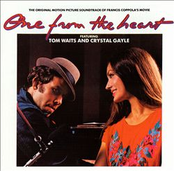 Tom Waits - One From The Heart (with Crystal Gayle) CD (album) cover