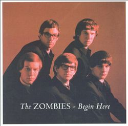 The Zombies - Begin Here CD (album) cover