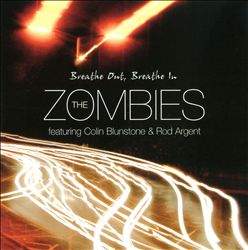 The Zombies - Breathe Out, Breathe In CD (album) cover