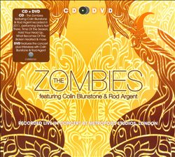 THE ZOMBIES - Recorded Live In Concert At Metropolis Studios, London CD album cover