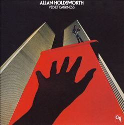 ALLAN HOLDSWORTH - Velvet Darkness CD album cover
