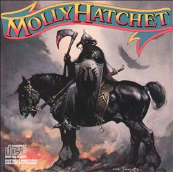 Molly Hatchet - Molly Hatchet CD (album) cover