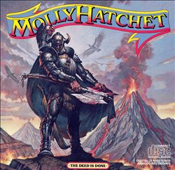 Molly Hatchet - The Deed Is Done CD (album) cover