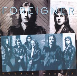 Foreigner - Double Vision CD (album) cover