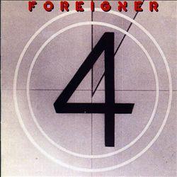 Foreigner - 4 CD (album) cover