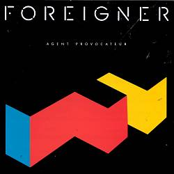 Foreigner - Agent Provocateur CD (album) cover