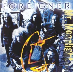 Foreigner - Mr. Moonlight CD (album) cover