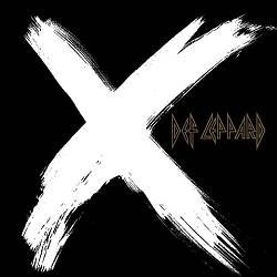 Def Leppard X CD album cover