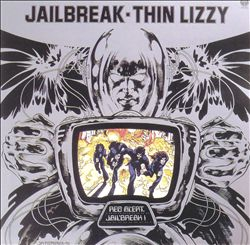 THIN LIZZY - Jailbreak CD album cover