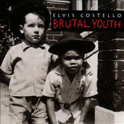 Elvis Costello - Brutal Youth CD (album) cover