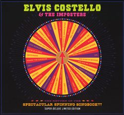 Elvis Costello - The Return Of The Spectacular Spinning Songbook!!! CD (album) cover