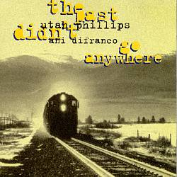 ANI DIFRANCO - The Past Didn't Go Anywhere CD album cover