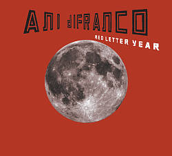 Ani Difranco - Red Letter Year CD (album) cover