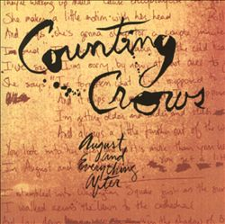 Counting Crows - August & Everything After CD (album) cover